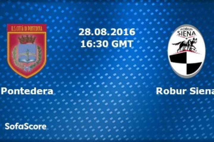 Robur, pareggio all'esordio in casa del Pontedera 1 – 1