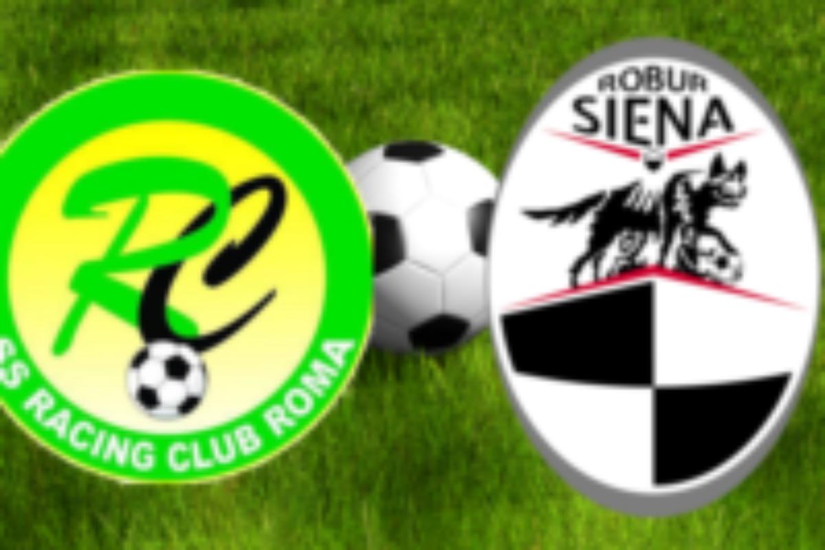 La ROBUR  passeggia a ROMA  :  Racing Roma – Robur Siena  0 – 4