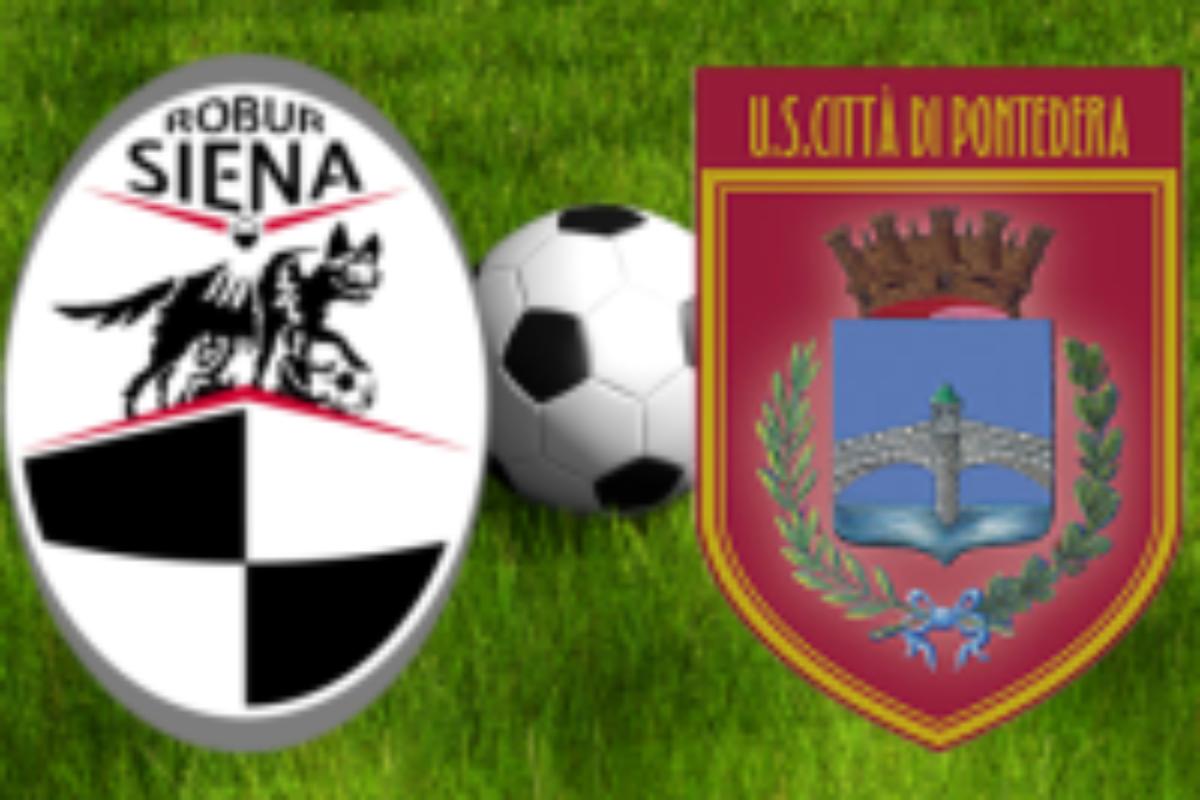 Robur Siena – Pontedera 2-1
