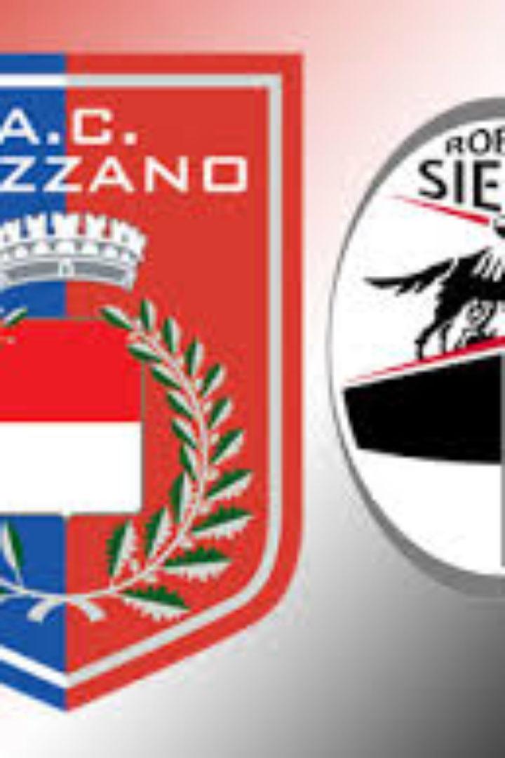 Gozzano-Siena 2-1, primo ko per la Robur