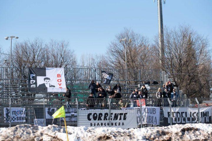 Siena, solo un pari a Cuneo nel turno infrasettimanale: finisce 1-1
