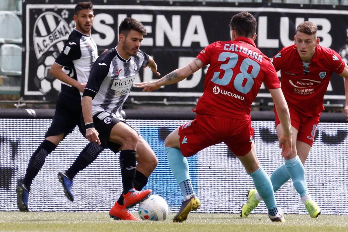 Siena-Olbia 1-0, la Robur torna al successo in zona Cesarini
