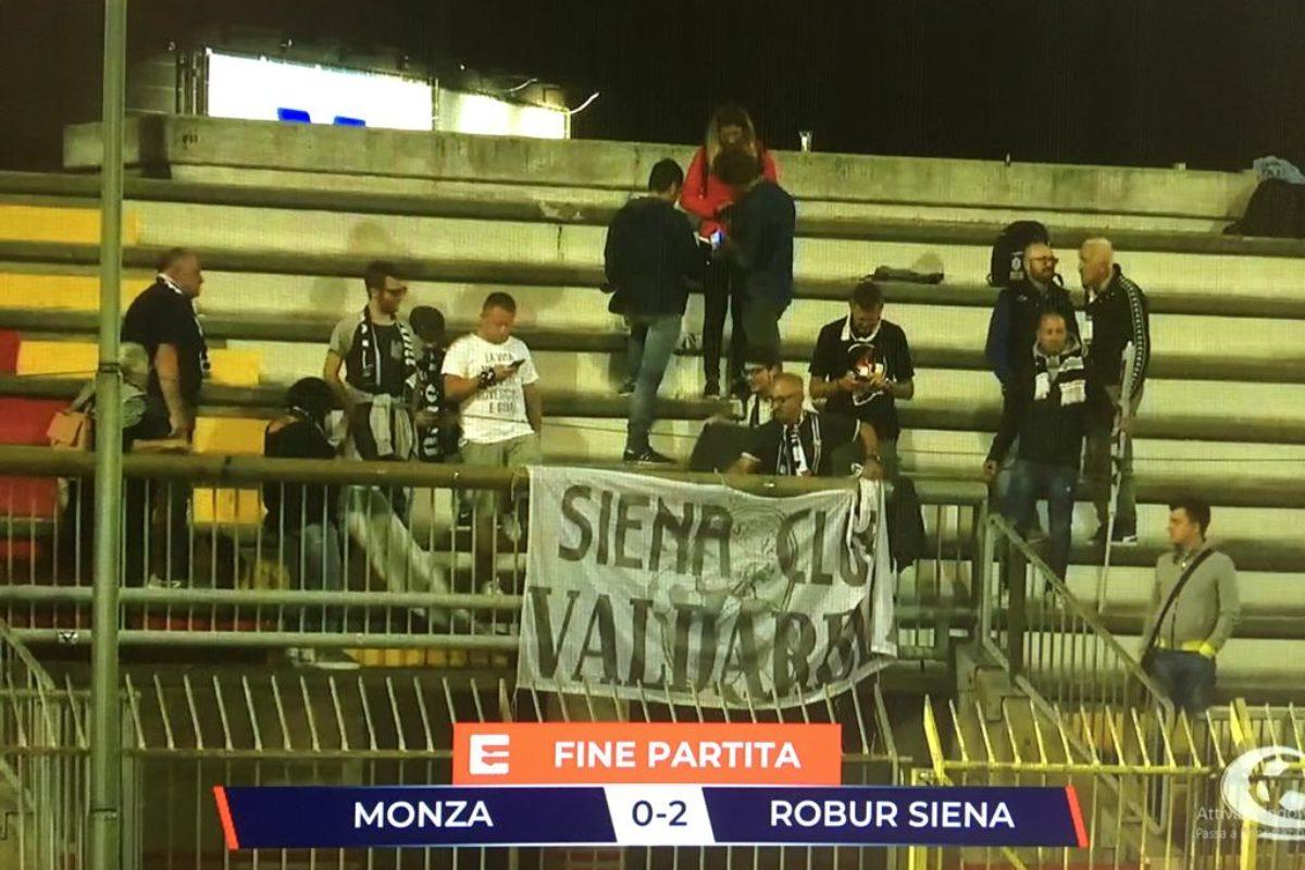 Robur, che colpo. Vince a Monza  — Monza-Robur Siena 0-2