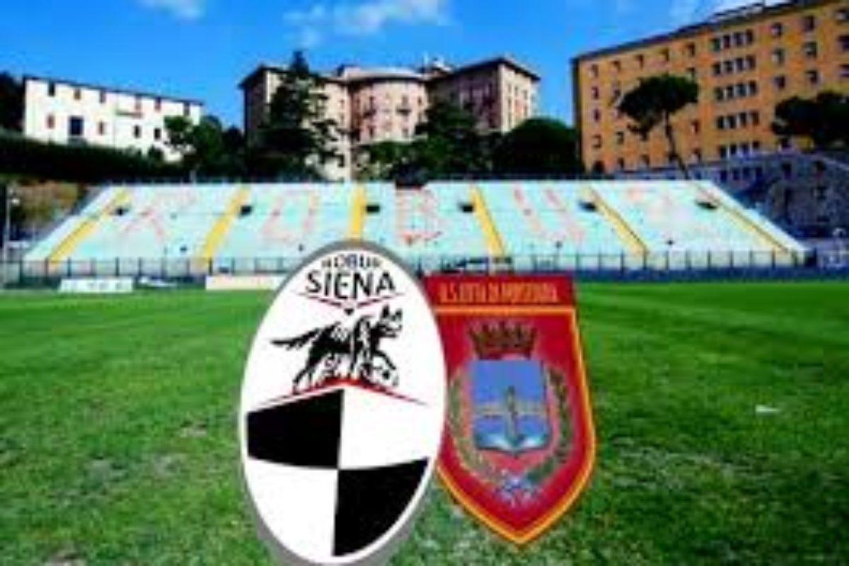 Siena-Pontedera 0-1, Beffa per i bianconeri che hanno attaccato di più
