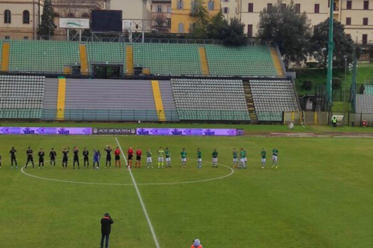 Il Siena sconfitto in casa dal Trastevere: finisce 2-3