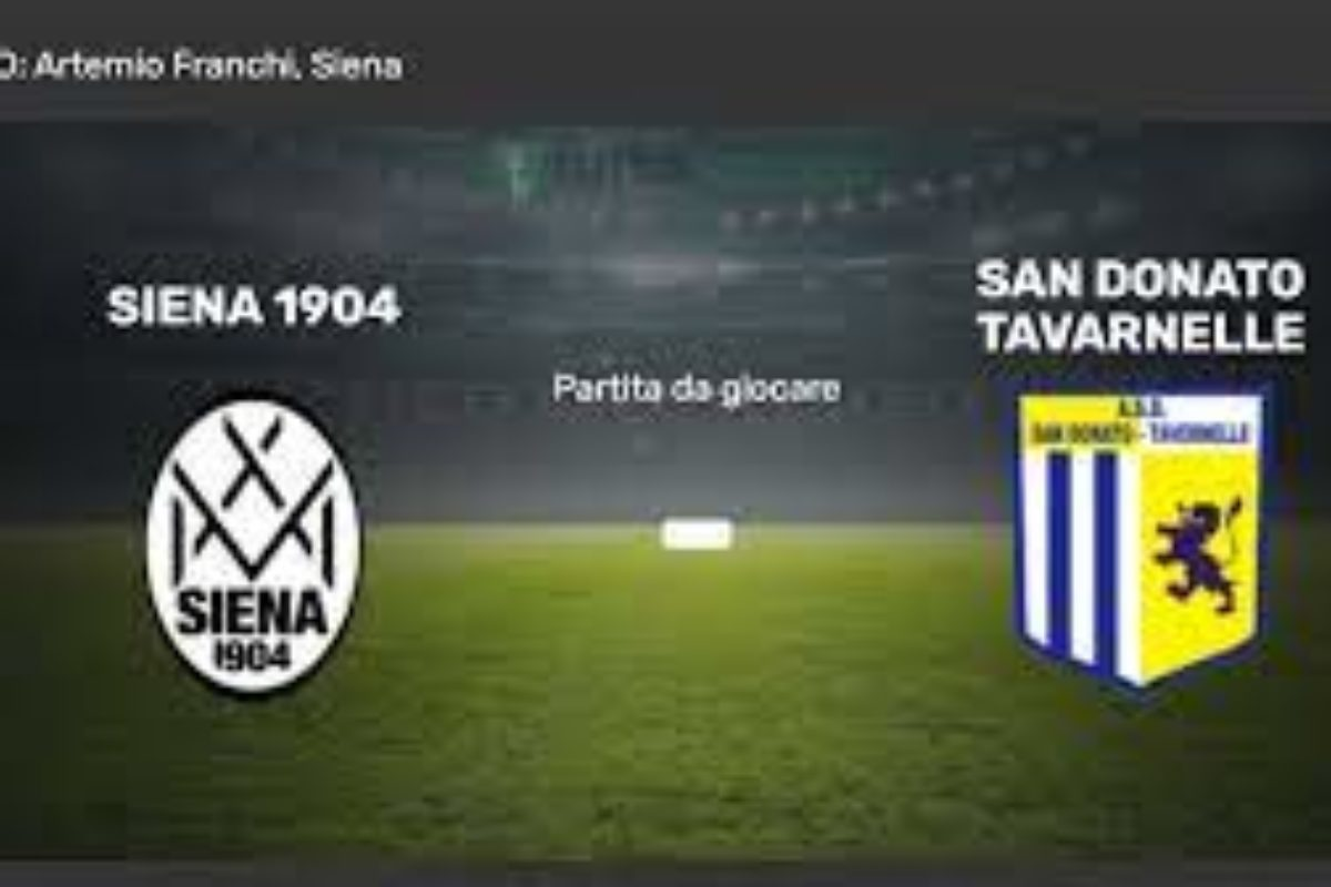 Siena avanti due volte raggiunta e superata dal San Donato: 2-3