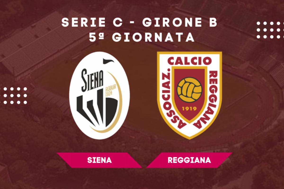 La Reggiana affonda il Siena in 8 minuti: finisce 0-2 all'Artemio Franchi