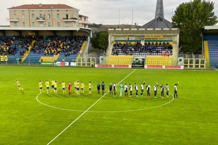 Fermana Siena 1-1. solo un pareggio con la Fermana